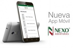 Mobile App for Nexo Aberturas S.A.